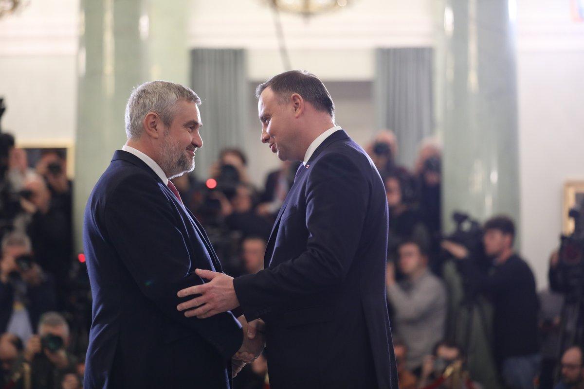 Jan Krzysztof Ardanowski dalej będzie odpowiadał za rolnictwo (fot. KPRM/twitter.com)