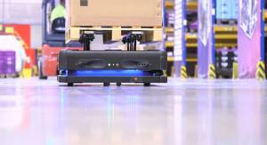 Roboty autonomoiczne Gideon Brothers w magazynach DB Shenker
