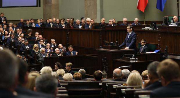 Skrajne oceny expose premiera Mateusza Morawieckiego