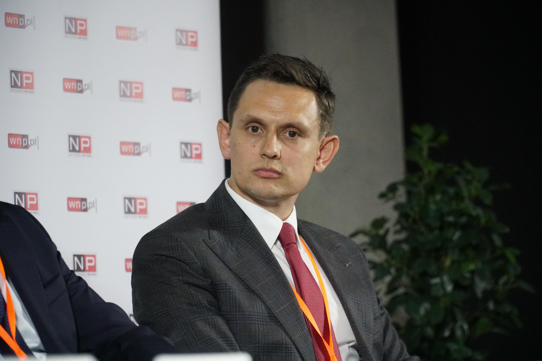 Paweł Wilman potwierdza, że handel emisjami CO2 nie pomaga w planowaniu działalności w branży węglowej (fot. PTWP / Michał Oleksy)
