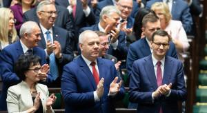"""Wicepremier Sasin zapowiada """"naturalne zmiany"""" w spółkach Skarbu Państwa"""