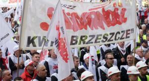 """Górnicy przed wyborem protestu w Brukseli. """"Pytanie, czy zahaczymy o Warszawę"""""""