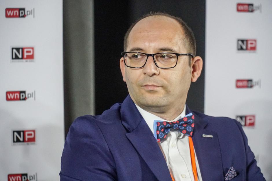Łukasz Herezy, dyrektor ds. innowacji LW Bogdanka. Fot. PTWP