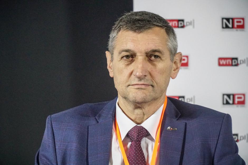 Piotr Bojarski, wiceprezes ds. produkcji Polskiej Grupy Górniczej. Fot. PTWP