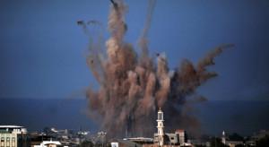 Izraelskie lotnictwo zaatakowało obiekty Hamasu w Strefie Gazy