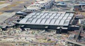 System antydronowy na londyńskim lotnisku Heathrow