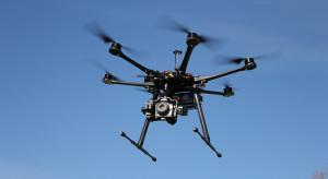 Deszcz uziemił drony brytyjskiej policji