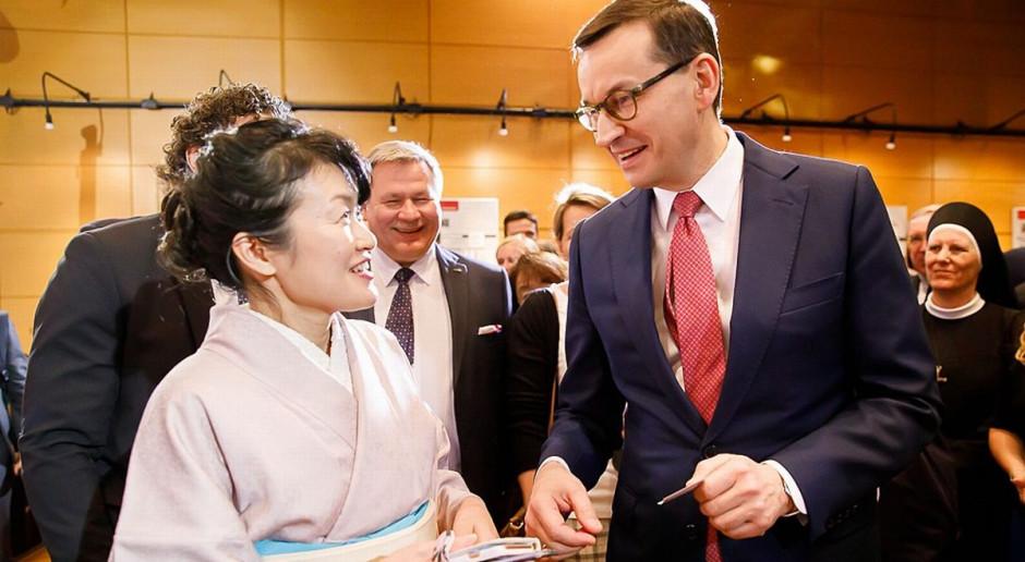 Morawiecki: Polska potrzebuje Japonii w 5G, atomie i komunikacji
