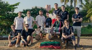 Polski łazik marsjański zwyciężył w zawodach w Indiach