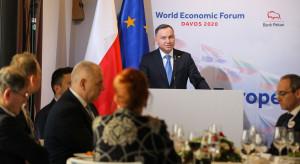 Andrzej Duda: ochrona klimatu bardzo ważna, ale trzeba chronić stabilność polskiej gospodarki