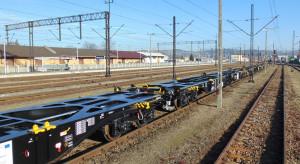 PKP Cargo ma pierwsze nowe platformy do obsługi przewozów intermodalnych