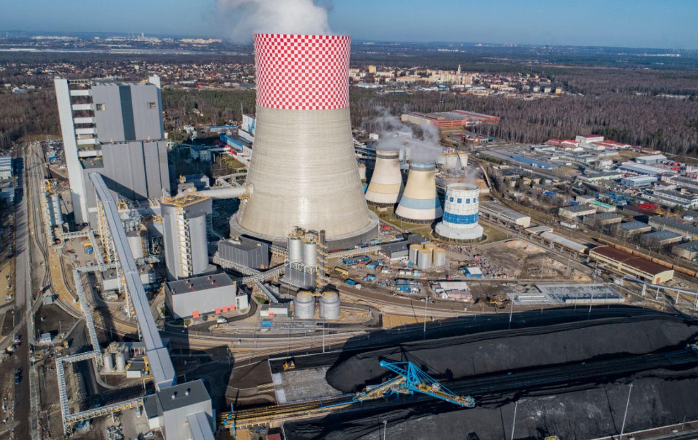Nowy blok w Elektrowni Jaworzno III. Fot. mat. pras.