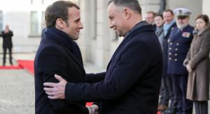 """Prezydent Francji w Polsce. """"To jest wizyta wagi ciężkiej"""""""