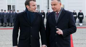 Macron: Polskę i Francję czeka wiele projektów i wyzwań