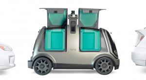 Nuro R2 - autonomiczny samochód dostawczy bez układu sterowania dla ludzi