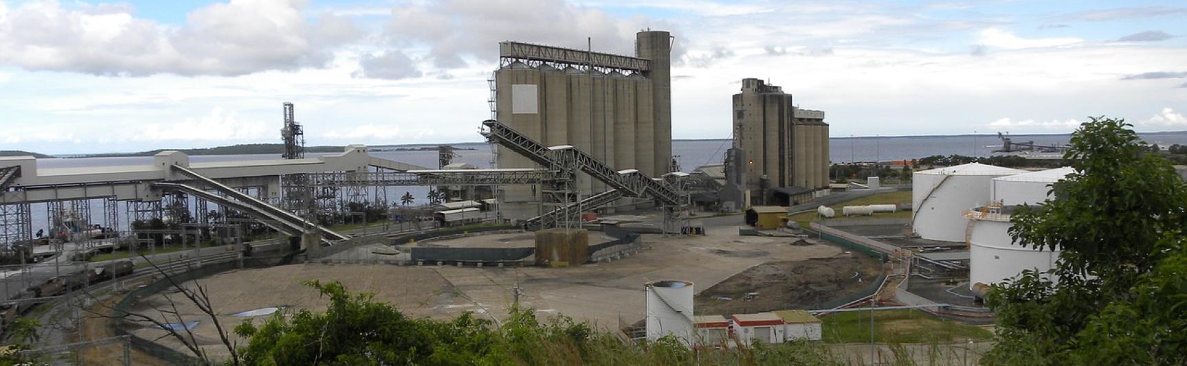 Port Gladstone, czwarty na świecie terminal eksportowy węgla kamiennego. Fot. Newspix