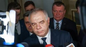 Jacek Sasin zapowiada projekt specustawy o wsparciu dla firm