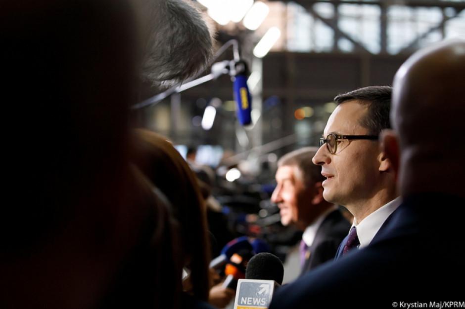 Mateusz Morawiecki: będziemy dbali o zapewnienie stabilności sektora finansów i sektora bankowego - finanse