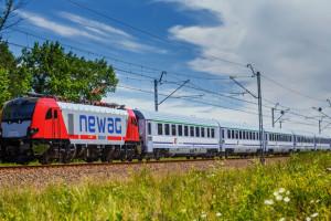 Pierwsze osiem lokomotyw dla Intercity odjechało z Newagu