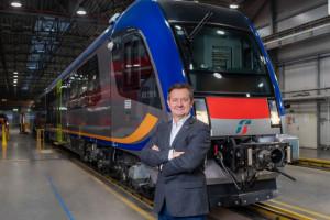 Pesa jedną nogą na rynku kolei dużych prędkości