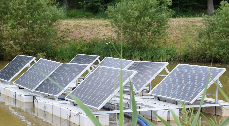 Energa OZE planuje farmę PV na zbiorniku wodnym w Łapinie
