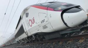 Wykoleił się pociąg TGV. Jest wielu rannych