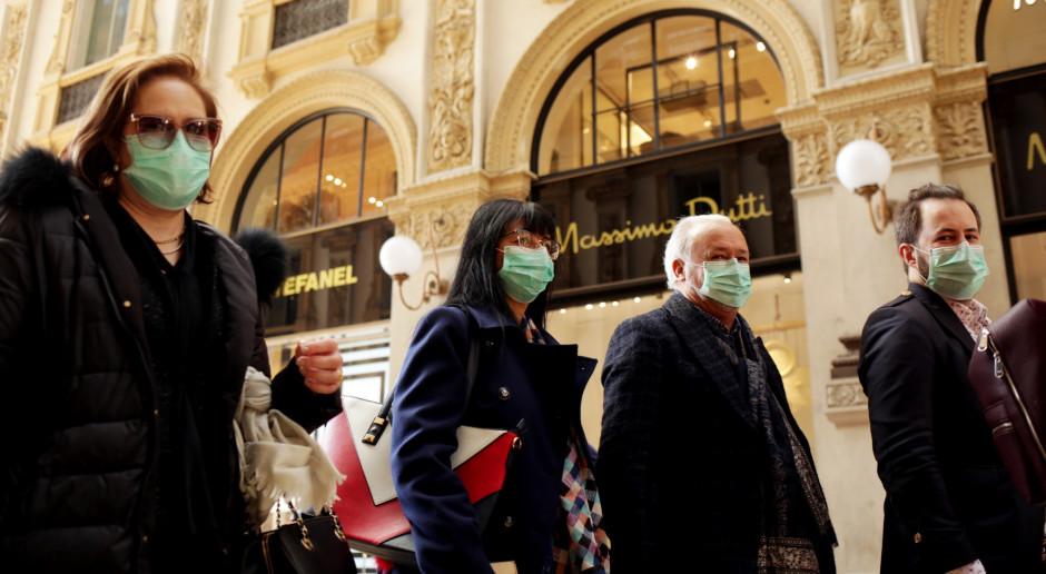 Włoskie firmy modowe szyją maseczki ochronne