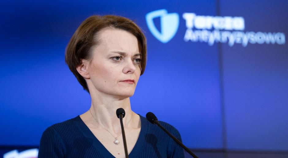 Emilewicz: projekt tarczy antykryzysowej przyjęty, teraz czas na konsultacje