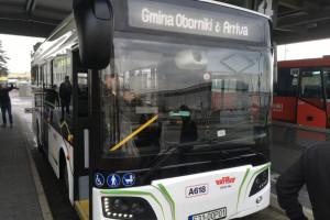 Elektryczny autobus Rafako na ulicznych testach