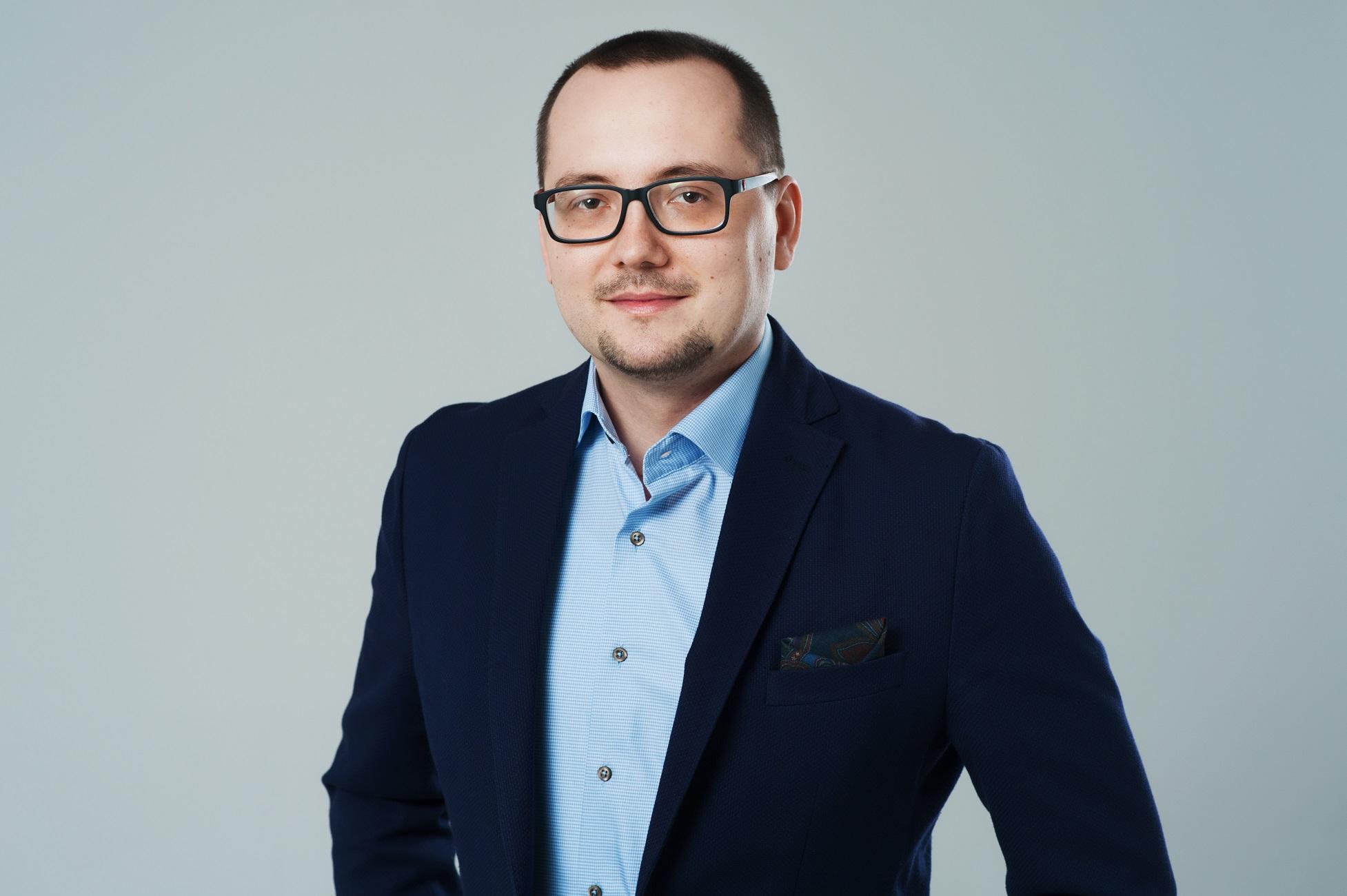 Grzegorz Smereka, wiceprezes spółki Impel System. Fot. mat. pras.