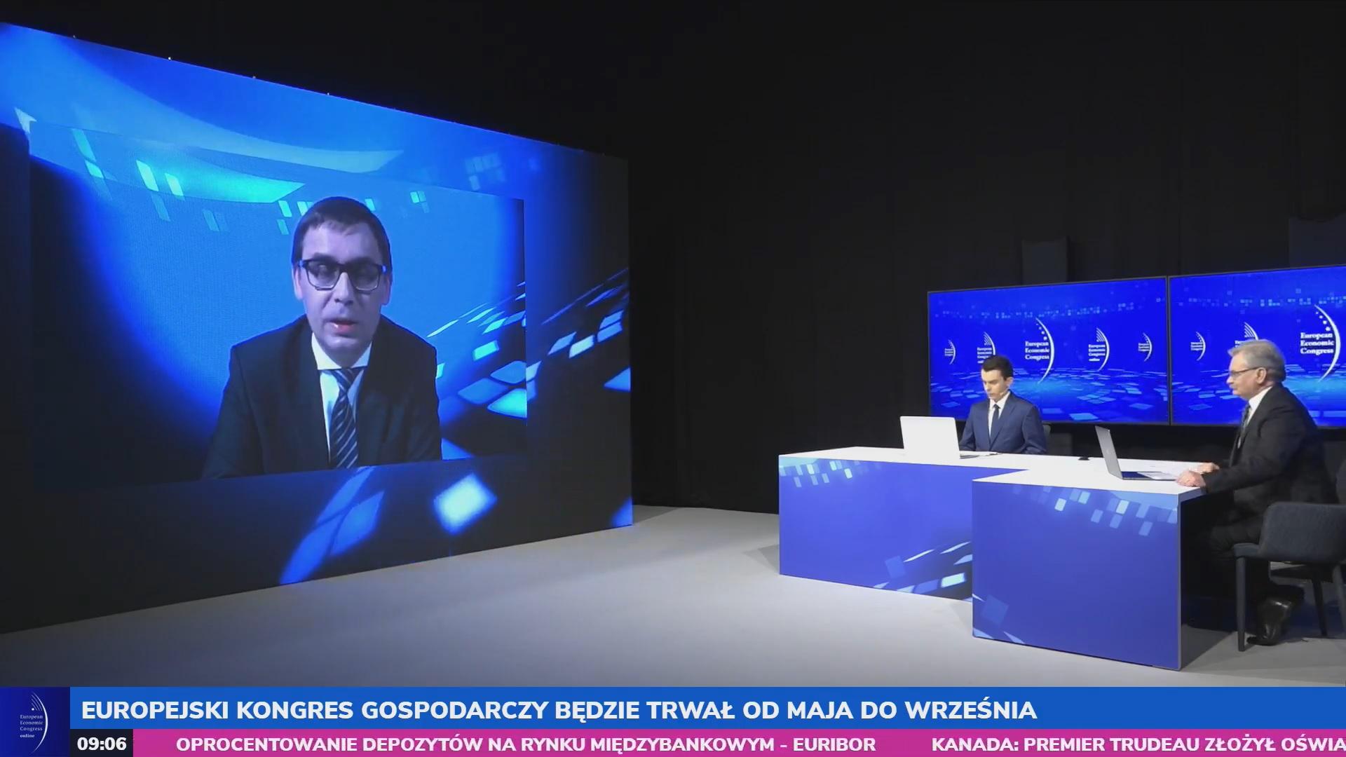 Wojciech Kuśpik zapowiedział, że Europejski Kongres Gospodarczy w nowych realiach będzie trwał od maja do września. Fot. PTWP