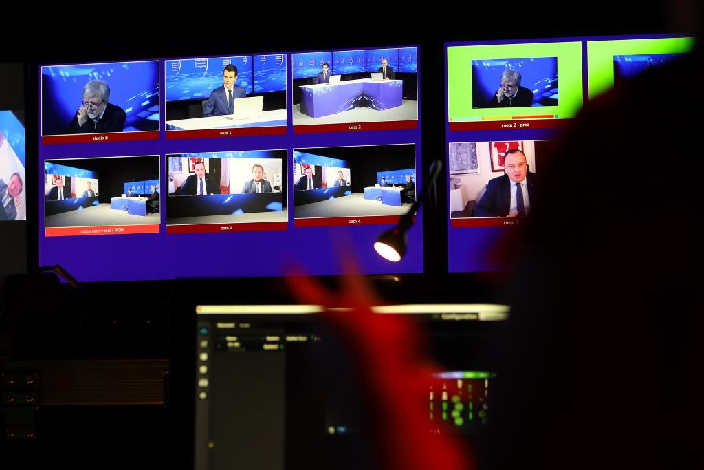 Studio realizatorskie EEC Online. Fot. PTWP