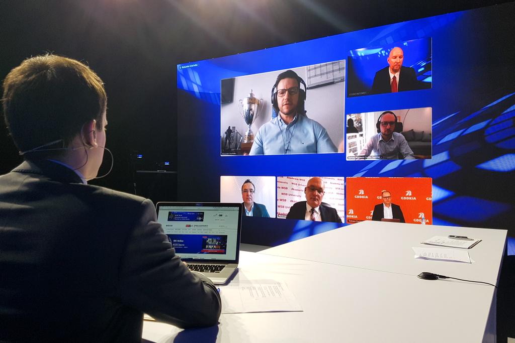 Aleksander Szlachetko podczas debaty na EEC Online. Fot. PTWP