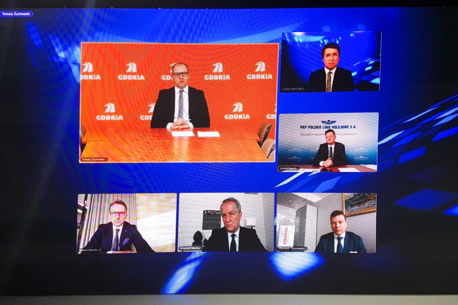 Tomasz Żuchowski podczas EEC Online. Fot. PTWP