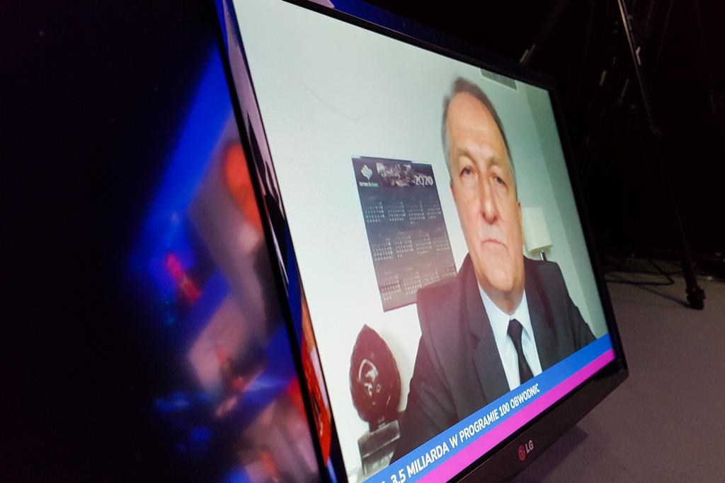 Krzysztof Niemiec podczas EEC Online. Fot. PTWP