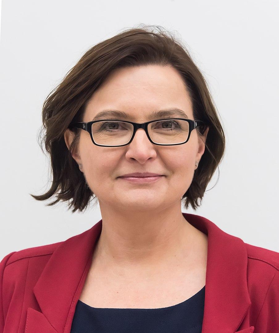 Anita Sowińska (fot. Adrian Grycuk - wikipedia, CC BY-SA 3.0)