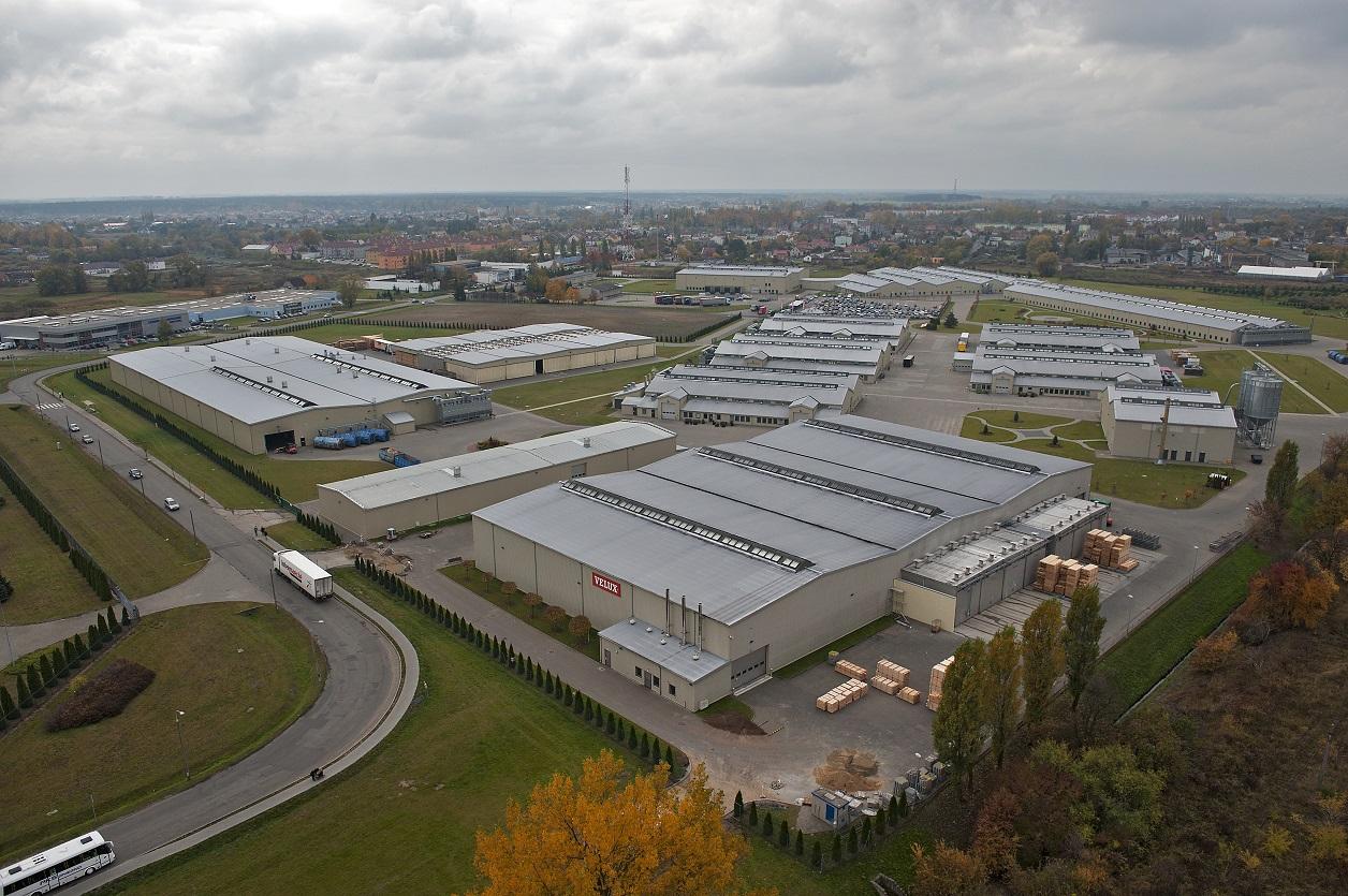 Fabryka Velux Polska w Gnieźnie. Fot. mat. pras.