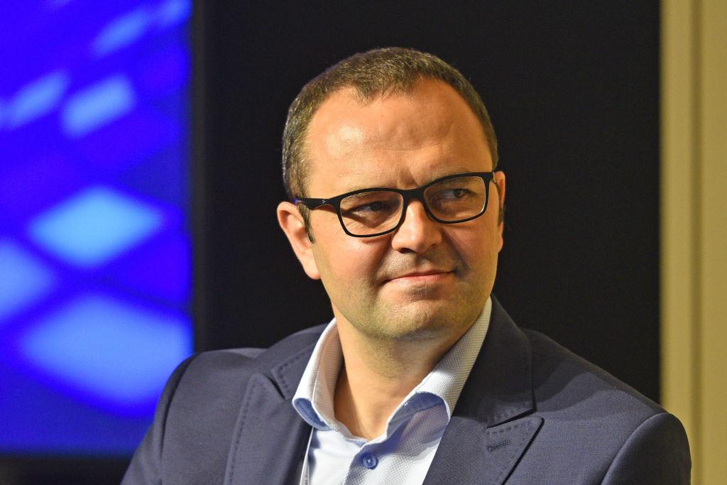 Paweł Zarudzki, dyrektor w dziale Lider Robotic & Cognitive Automation w firmie Deloitte (fot. PTWP)