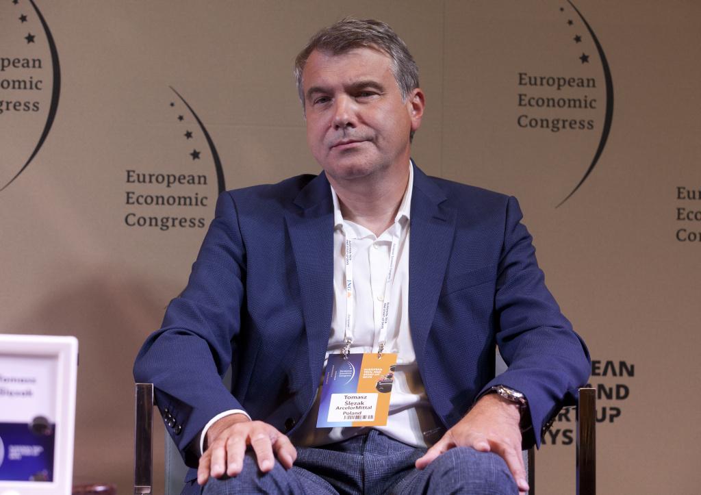 Tomasz Ślęzak, dyrektor energii i ochrony środowiska, członek zarządu ArcelorMittal Poland. Fot. PTWP