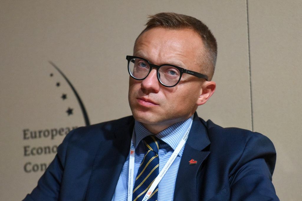 Artur Soboń, wiceminister aktywów państwowych, pełnomocnik rządu ds. transformacji spółek energetycznych i górnictwa. (fot. PTWP)
