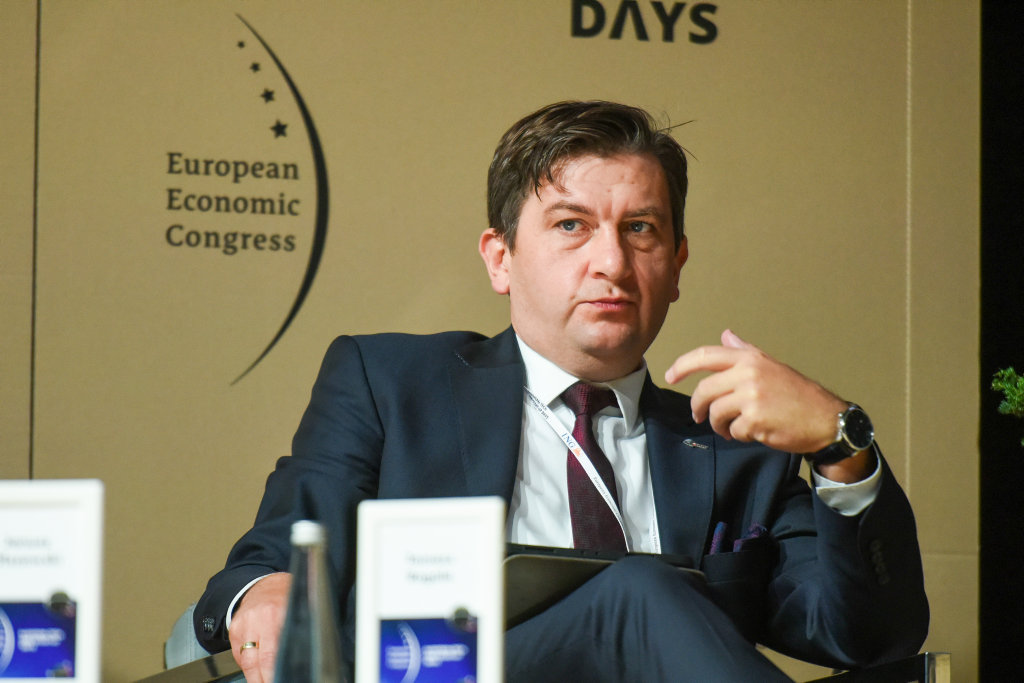 Tomasz Rogala, prezes zarządu Polskiej Grupy Górniczej (fot. PTWP)