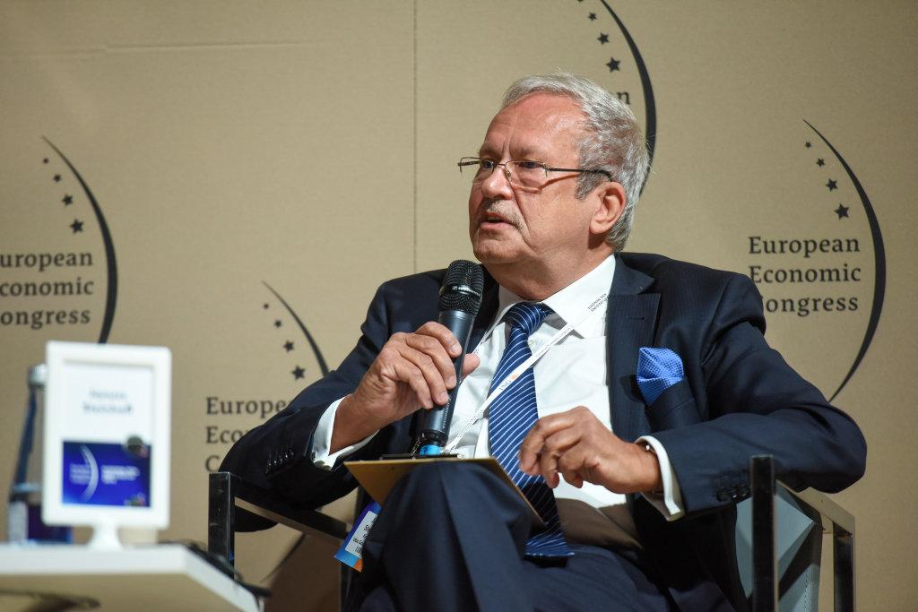 Janusz Steinhoff przewodniczący Rady Krajowej Izba Gospodarczej, były wicepremier i minister gospodarki (fot. PTWP)