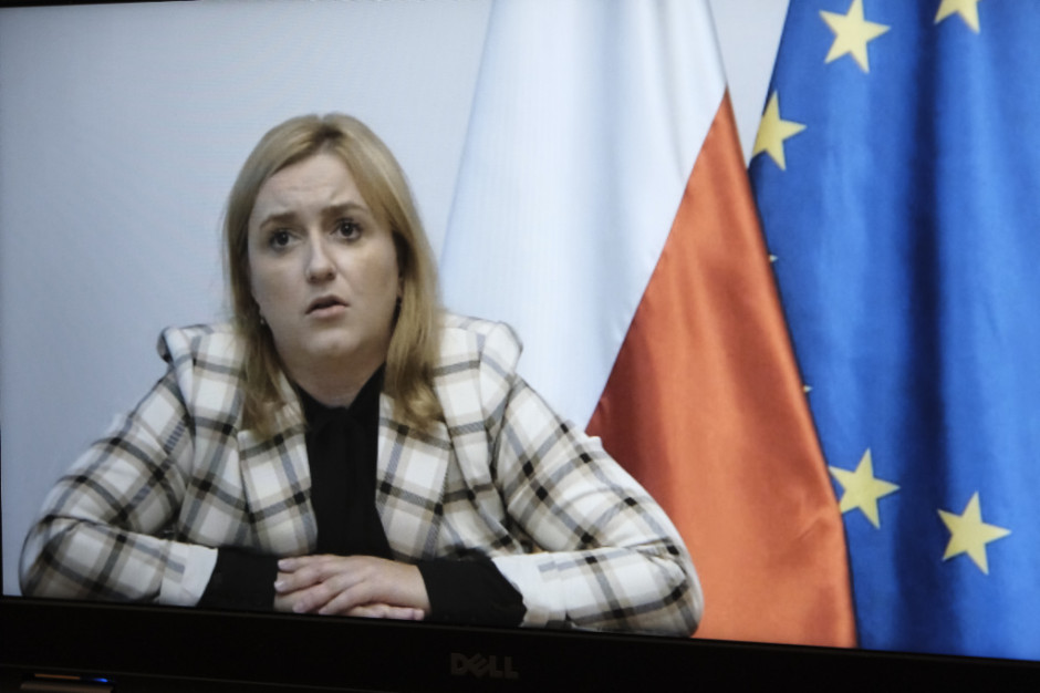 Olga Ewa Semeniuk, podsekretarz stanu w Ministerstwie Rozwoju. Fot. PTWP