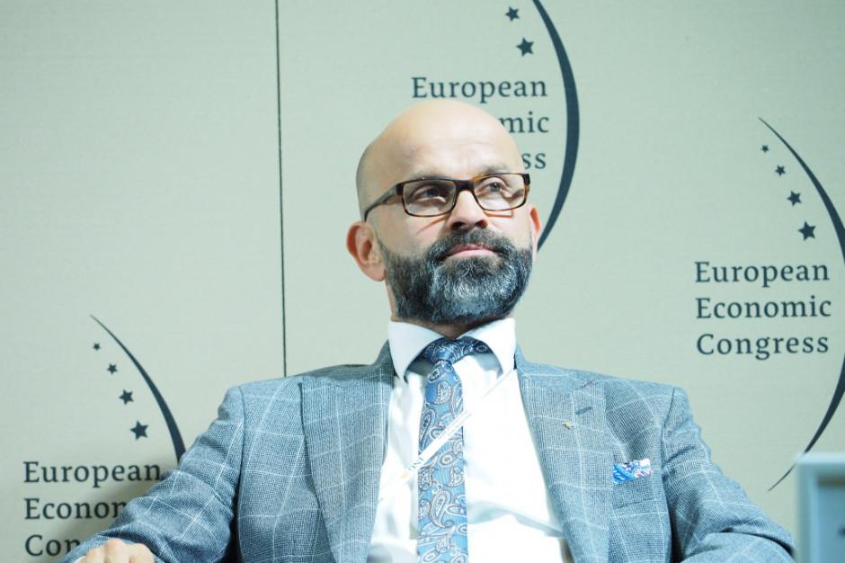 Janusz Michałek, prezes Katowickiej Specjalnej Strefy Ekonomicznej. Fot. PTWP