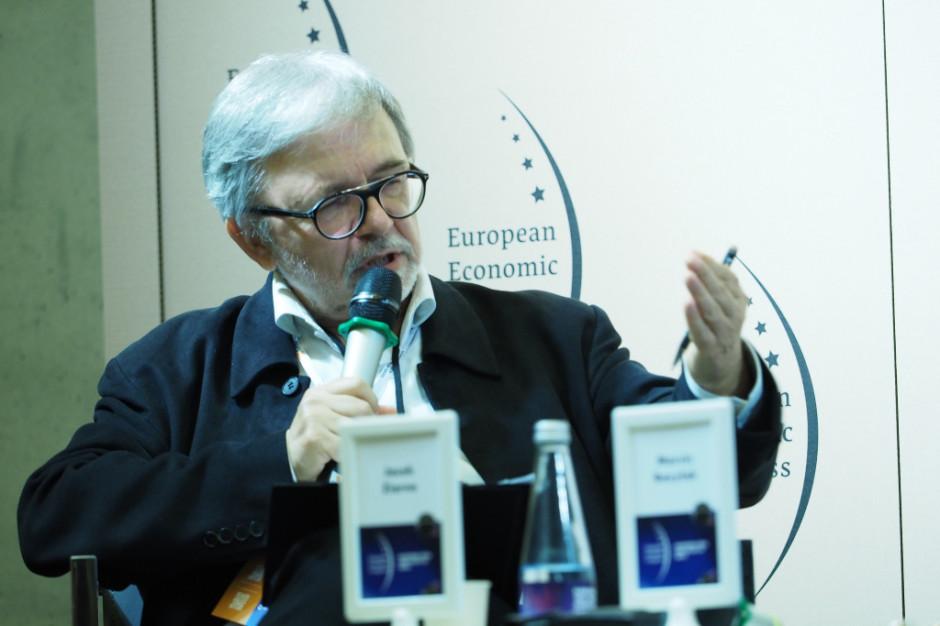 Dyskusję moderował Jacek Ziarno, redaktor naczelny Magazynu Gospodarczego Nowy Przemysł. Fot. PTWP